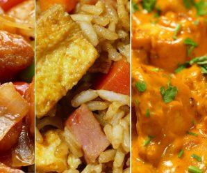 😋3 recetas de comida china ¡RAPIDAS Y FACILES DE HACER!🥡