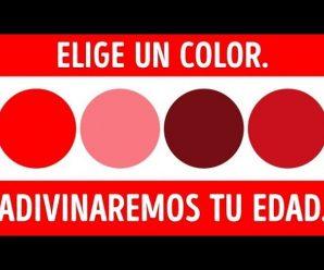 👀 Una prueba de colores que puede revelar tu edad mental😱