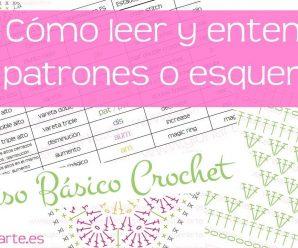 📝Curso básico crochet: leer patrones, esquemas o diagramas 📊 📉