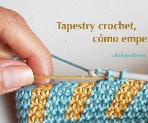 😍SUPER TUTORIAL TAPESTRY CROCHET ☀️PASO A PASO!!!..🤗