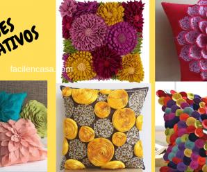 😍🌹Tutorial de cojines decorativos de tela❤️- curso gratis!!!🌻🎀