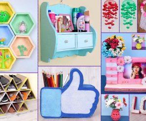 🎀💟Ideas para decorar🖼 y organizar tu habitación!!!🏠🛌