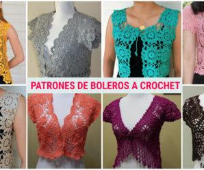 TUTORIAL DE TOPS DE PATRONES DE BOLEROS A CROCHET!!!