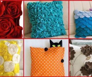 HERMOSAS IDEAS PARA DECORAR COJINES / TUTORIAL PASO A PASO