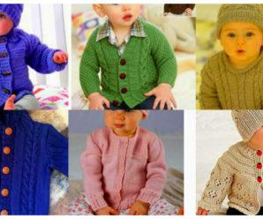 Bellisimas chaquetas de bebe a crochet-tutorial gratis!!!