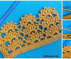 Tutorial de punto a crochet flor de verano-paso a paso!!!