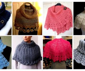 Hermosos chales- bufanda de mujer tejido a crochet-paso a paso!!!