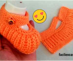 Aprende a tejer hermosos zapatitos a crochet-paso a paso!!!