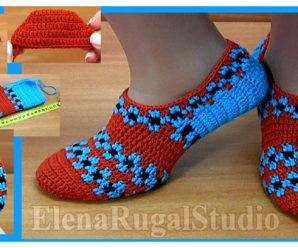 Tutorial de zapatos de mujer a ganchillo-paso a paso!!!