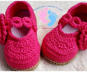 Bellisimos zapatitos de bebe a crochet-paso a paso!!!