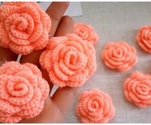 Bellisimas flores a crochet-patrones gratis!!!
