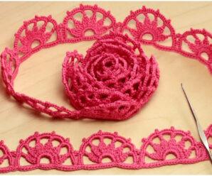 Bellisimo encaje a crochet-aprende fácil y gratis!!»