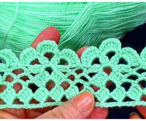 Aprende a tejer bordes de manta a crochet!!!